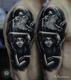 Marionette/ tattoo