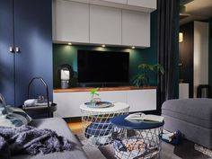 BESTÅ TV and media storage solutions Tv Storage, Media Storage, Living Room Storage, Living Room Tv, Media Room Seating, Dark Interiors, Elle Decor, Decoration, Storage Solutions