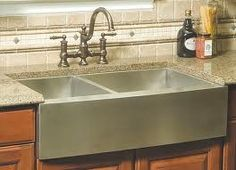 Ariel 36 Inch Stainless Steel Curved Front Farm A Double Bowl Kitchen Sink Modern Sinks Left Interior X Right By