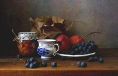 35PHOTO - Елена Татульян - С чашкой и фруктами