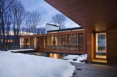 Bridge House / Joeb Moore + Partners Architects | ArchDaily