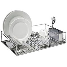 The Container Store > Stainless Steel Dish Drainer