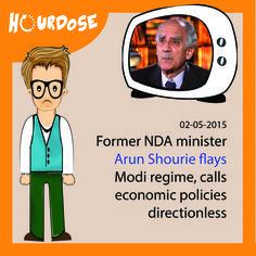 Former NDA minister Arun Shourie flays Modi regime