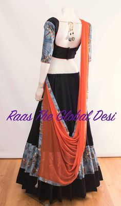 Half Saree Designs, Choli Designs, Lehenga Designs, Saree Blouse Designs, Dress Designs, Blouse Patterns, Garba Dress, Navratri Dress, Lehnga Dress