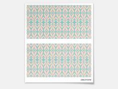 Designfolie Fleur für dein Hemnes Kommode 2 Schubladen