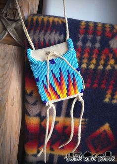 Native American Beaded Pouch by crystaltewa on Etsy crystaltewa.etsy.com  Creative Native Boutique