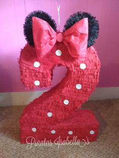 Minnie mouse pinata for Sale in Houston, TX - OfferUp Minnie Mouse Pinata, Minnie Mouse Rosa, Minnie Mouse Theme Party, Mickey Party, Mouse Parties, Pirate Party, 2 Year Old Birthday Party Girl, Girl Birthday Themes, 2nd Birthday Parties