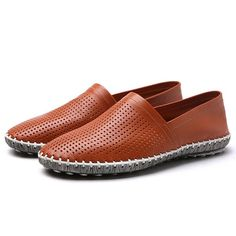 Men Casual Breathable Hand Stitching Hollow Out Flat loafers  Worldwide delivery. Original best quality product for 70% of it's real price. Hurry up, buying it is extra profitable, because we have good production sources. 1 day products dispatch from warehouse. Fast & reliable shipment...