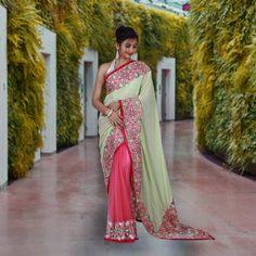 Buy exclusive designer sarees at sairandhri.com For information contact us at +919300066411 #sareemanufacturersinindia