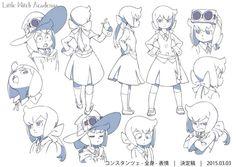 Little Witch Academia 2 character Constanze Braunschbank Albrechtsberger