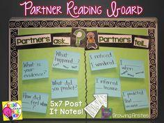 Partner Reading Bulletin Board...Partners ask...Partners tell...