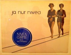 Nivea Poster. #nivea #retro