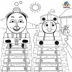 Here We Have Some Great Thomas Coloring Pictures Pages To Print And Color Early Childhood Education Training Learning Activities For Toddle