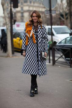 Paris Street Style Fall 2013 - Paris Fashion Week Style Fall 2013 - Harpers BAZAAR#slide-1#slide-1
