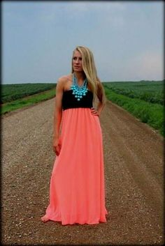 Cool neon pink strapless maxi dress 2018/2019 Check more at http://24myfashion.com/2016/neon-pink-strapless-maxi-dress-20182019/