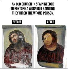 Restoration gone wrong…