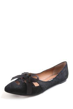 Kensie footwear milly ribbon bow flat
