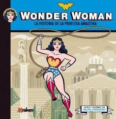 """José Luis Martín de Las Heras reseña """"Wonder Woman,, la historia de la princesa amazona"""", una buena iniciativa para iniciar a los más pequeños en el universo de los superhéroes.  http://www.mardetinta.com/comic/wonder-woman-la-historia-de-la-princesa-amazona/ ED.KRAKEN"""