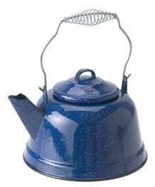 Blue enamel ware