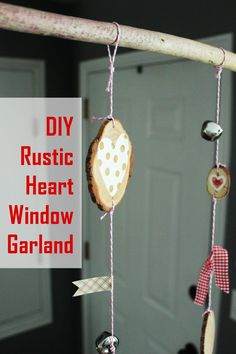 It's February, which means that Valentine's Day is almost here. This holiday is a fun one in the DIY and/or home decorating world – the thematic décor is sweet and relatively simple. This DIY rustic heart window garland is no exception. I love the earthy simplicity of the garland. Plus, you can throw this one...You're reading DIY Rustic Heart Window Garland , originally posted on Homedit. If you enjoyed this post, be sure to follow Homedit onTwitter,FacebookandPinterest. :: Home Decor