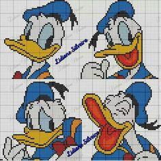 Las caras de Donalds