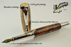 Picture Custom Pens, Plating, Gold, Yellow
