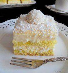 Polish Recipes, Polish Food, Sweet Bakery, Vanilla Cake, Food Inspiration, Delish, Good Food, Food And Drink, Cooking Recipes
