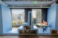 ClubMed office by Diego Fuertes & 100architects, Shanghai – China » Retail Design Blog