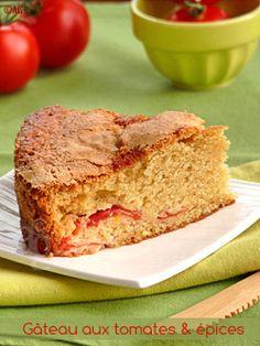 Gâteau aux tomates & épices -