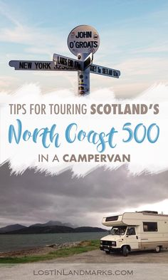 Tips for driving the North Coast 500 in a campervan or motorhome - Lost In Landmarks Tips for driving Scotland's North Coast 500 road trip in a campervan. The sees the scottish highlands countryside and is perfect to do in a motorhome. Scotland Road Trip, Scotland Travel, Ireland Travel, Edinburgh, North Coast 500 Scotland, Road Trip Hacks, Road Trips, Holiday Travel, Holiday Trip