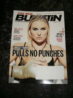 THE RED BULLETIN Magazine ~ JANUARY 2014 Issue ~ Featuring LINDSEY VONN