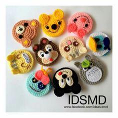 Crochet Bunny, Love Crochet, Crochet Motif, Crochet For Kids, Diy Crochet, Crochet Crafts, Crochet Projects, Crochet Flower Tutorial, Crochet Flowers