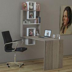 Dekorister Molto Çalışma Masası - Beyaz / Cordoba