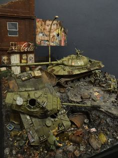 Photo 2 - «Kuzka's mother» | Dioramas and Vignettes | Gallery on Diorama.ru