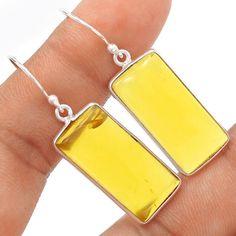 Golden-Sun-Opal-925-Sterling-Silver-Earrings-Jewelry-SE101915