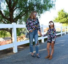 Matching With My Little Lulu - Jaclyn De Leon Style + tips for dressing your little ones + matching style + zara sweatshirt + white sunglasses + edgy street style + mommy and me style + mini me style + casual fall fashion + kids fashion + outfit inspiration + mom style