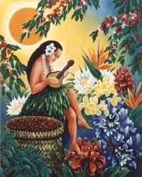 Coffee How Much Caffeine Hawaii Tourism, Discount Coffee, Kona Coffee, Coffee Company, Made In America, Hawaiian, Caffeine, Painting, Island