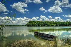 Vučedol, Danube near Vukovar. Croatia