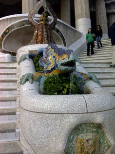 Barcellona - Spain    Parc Guell