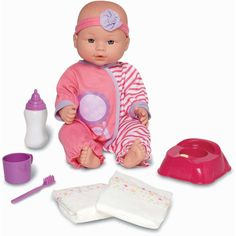 My Sweet Love Baby Doll Potty Time Set, Caucasian