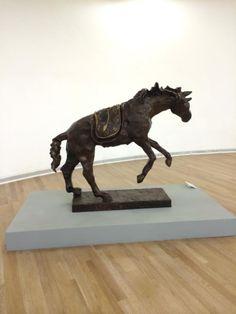 Horse saddled with time - Dali - #MexicoCity