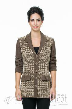 Portal do Tricot Sweaters, Fashion, Elegant Woman, Charms, Tricot, Moda, Fashion Styles, Sweater, Fashion Illustrations