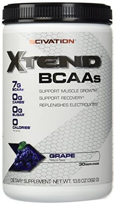 Scivation Xtend  Grape Escape 30 Servings 138oz ** Find out more about the great product at the affiliate link Amazon.com on image.