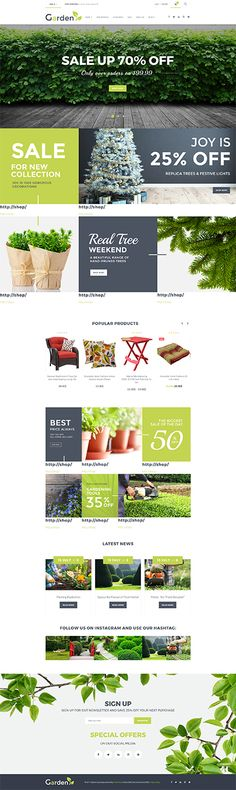 Garden & Furniture Online Store #WooCommerce #template. #themes #business #responsive #WooCommercethemes