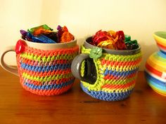crochet mug cozies by bunny mummy