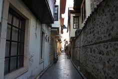 터키 안탈리아의 골목길