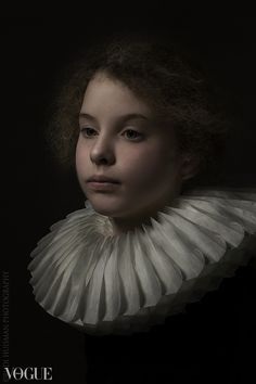 Rembrand Style portrait Birgitte by Rudi Huisman Photographer Rudi Huisman is creating portraits inspired and based on the golden age master painters.