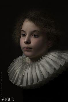 Rembrand Style portrait Birgitte. Rudi Huisman