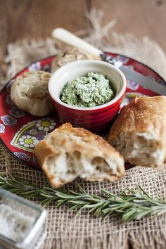 Rosemary-roasted Garlic and Dill Butter by @Turntable Kitchen.  #recipe #noms