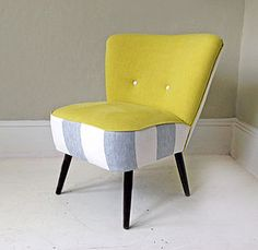 1940's Cocktail Chair In Alchemilla - furniture
